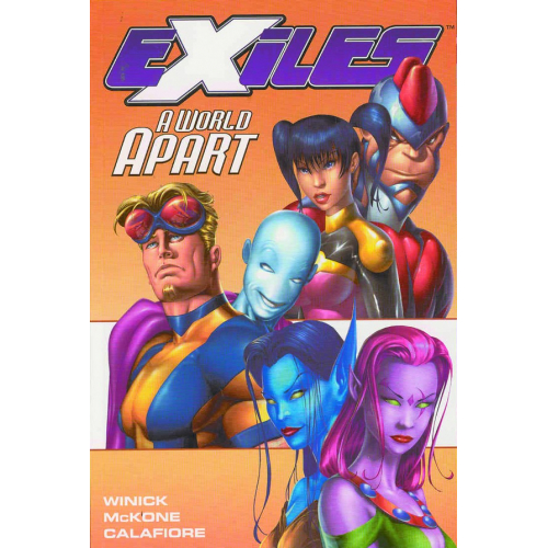 EXILES TP VOL 02 A WORLD APART(VO) occasion