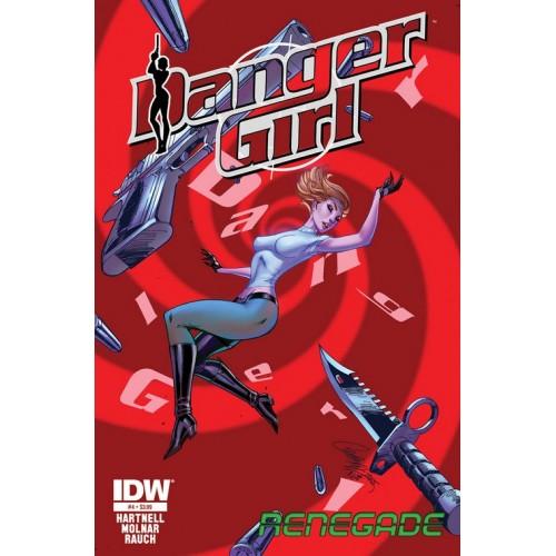 Danger Girl Renegade 4