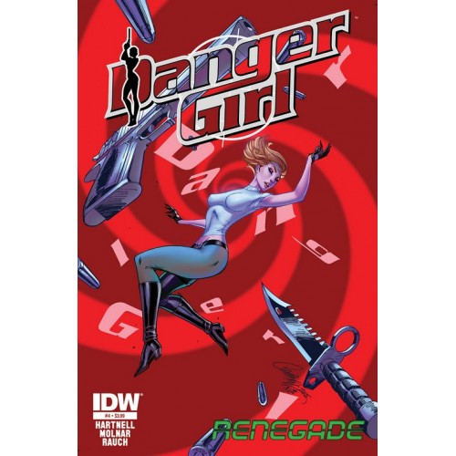 Danger Girl Renegade 3