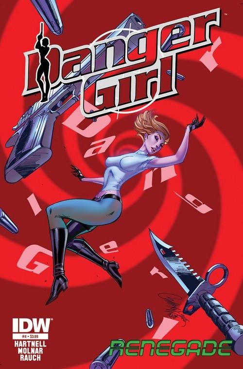 Danger Girl Renegade 3