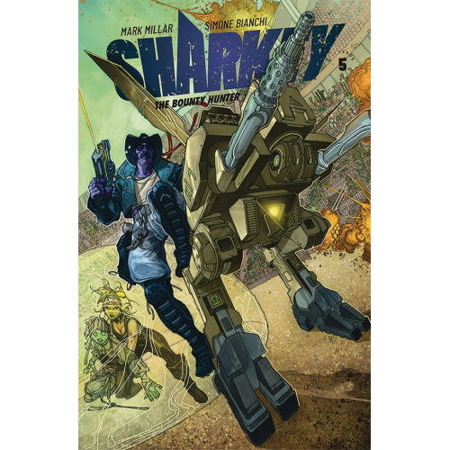 SHARKEY THE BOUNTY HUNTER 5 (VO) MARK MILLAR - SIMONE BIANCHI