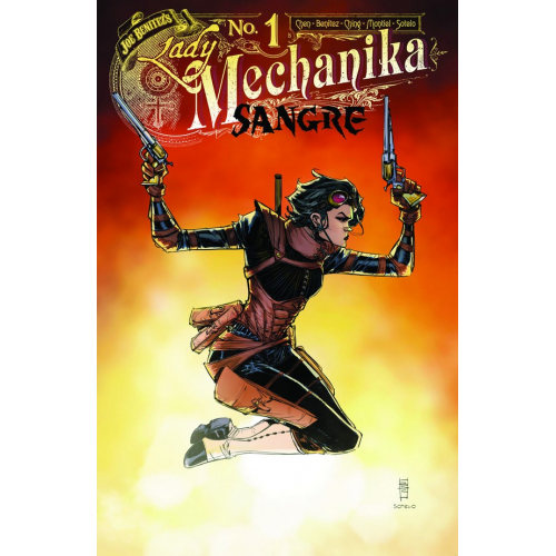 Lady Mechanika : Sangre 1 (VO) Couverture B