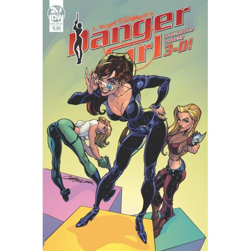 DANGER GIRL DANGEROUS VISIONS 3-D (VO)