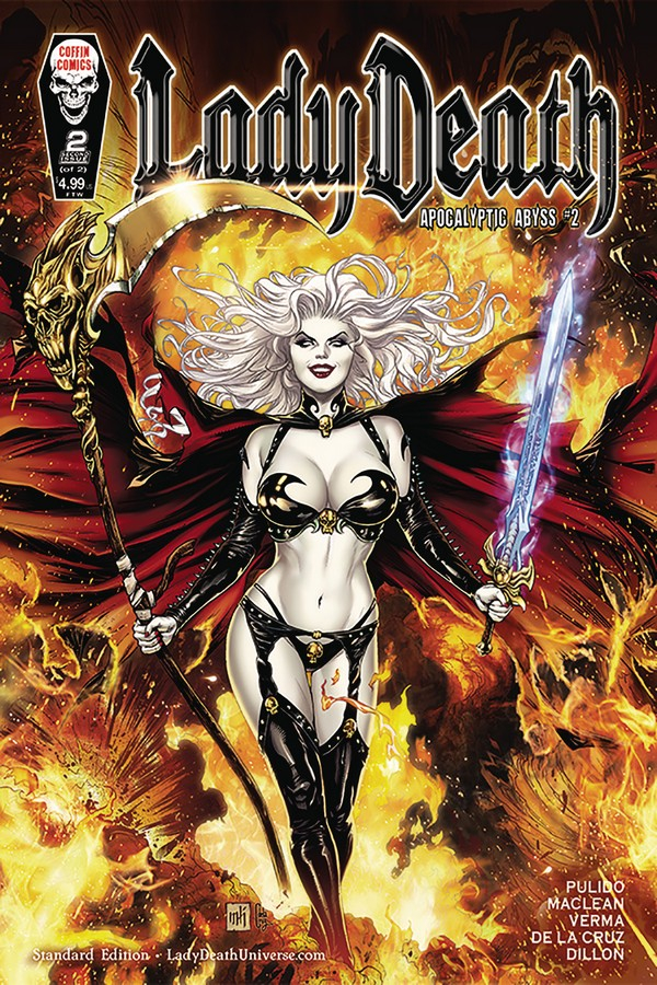 LADY DEATH APOCALYPTIC ABYSS 2 (OF 2) STANDARD COVER (VO)