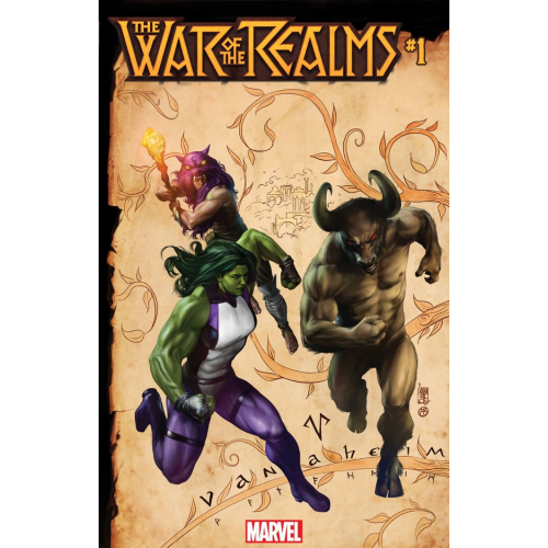 WAR OF REALMS 1 (OF 6) CAMUNCOLI CONNECTING REALM VAR (VO)