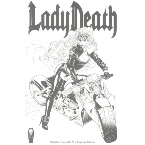 LADY DEATH MERCILESS ONSLAUGHT 1 INCENTIVE (VO)