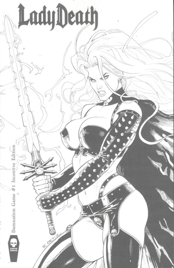 Lady Death : Damnation Game 1 Incentive (VO)