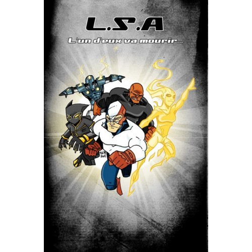 LSA 1 (Black Cover) VF