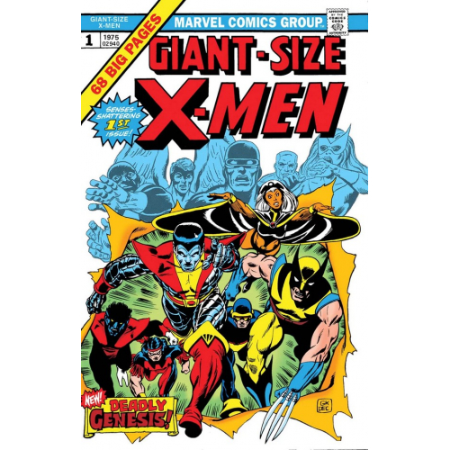 GIANT-SIZE X-MEN 1 FACSIMILE EDITION (VO)