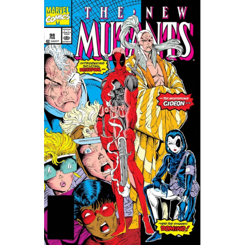 NEW MUTANTS 98 FACSIMILE EDITION (VO)
