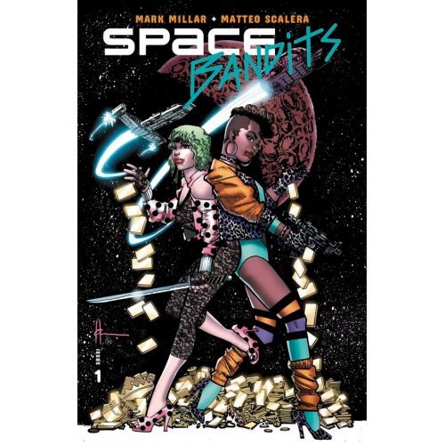 SPACE BANDITS 1 (OF 5) COVER C LEGENDS VARIANT (VO)