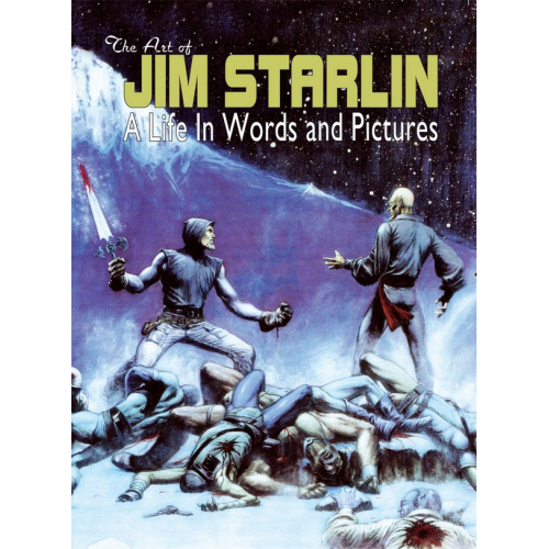 ART OF JIM STARLIN LIFE IN WORDS & PICTURES HC (VO)