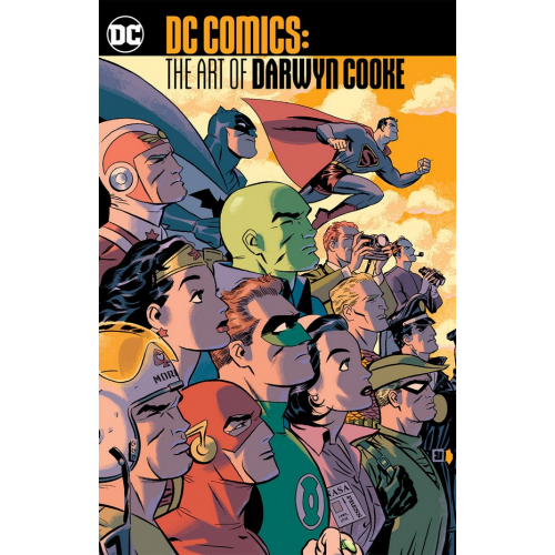 DC COMICS THE ART OF DARWYN COOKE TP (VO)