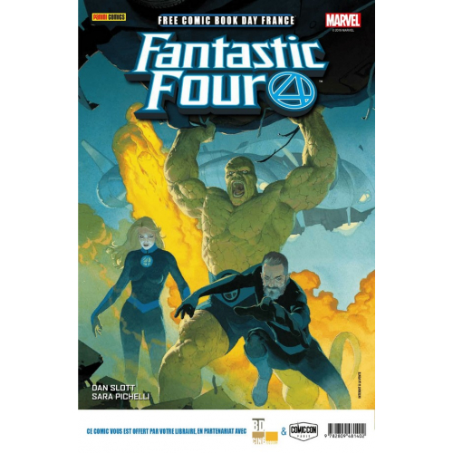 FCBD France 2019 – Panini Comics – Fantastic Four 1 / Conan 1 (VF)