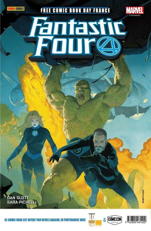 FCBD France 2019 – Panini Comics – Fantastic Four 1 / Conan 1 (VF)