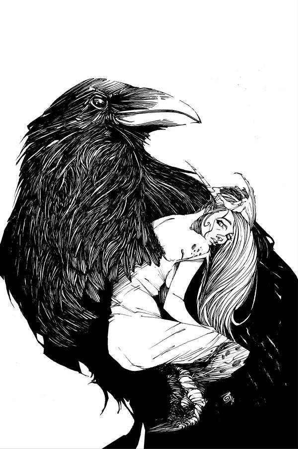 Print Secret Life of Crows - Mike Debalfo - Original Fine Arts - Limited to 100
