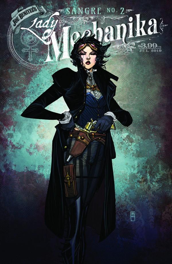 Lady Mechanika : Sangre 2 (VO) Couverture A