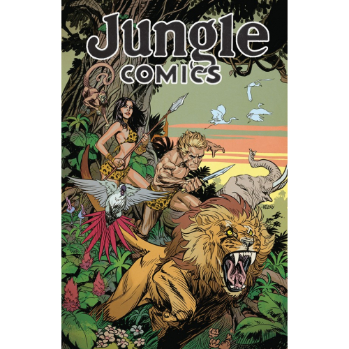 JUNGLE COMICS 1 MAIN CVR (VO)