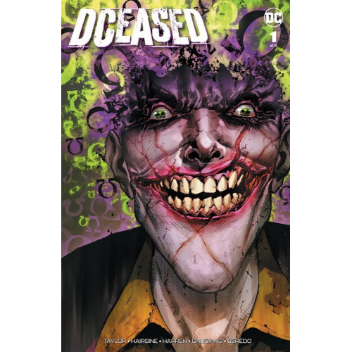 DCEASED 1 (VO) Trevor Hairsine cover signé
