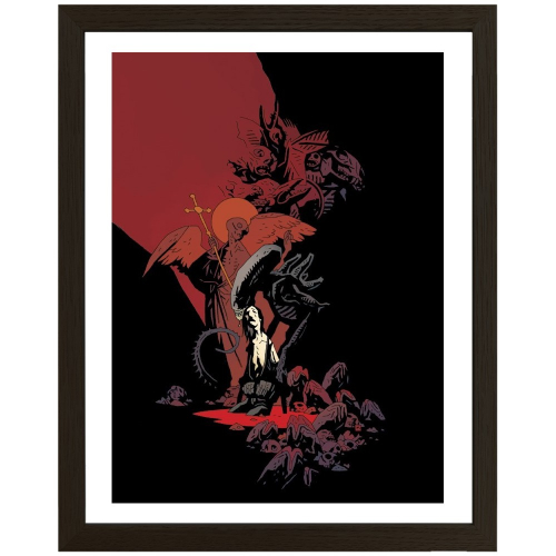 Print ALIENS 01 - MIKE MIGNOLA - Original Fine Arts - Limited to 100 - Encadré