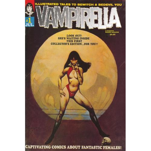 VAMPIRELLA 1 1969 REPLICA ED (VO)