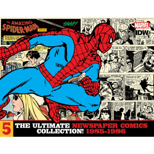 AMAZING SPIDER-MAN ULT NEWSPAPER COMICS HC VOL 05 1985-1986 (VO)