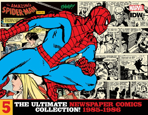 AMAZING SPIDER-MAN ULT NEWSPAPER COMICS HC VOL 05 1985-1986 (VO)