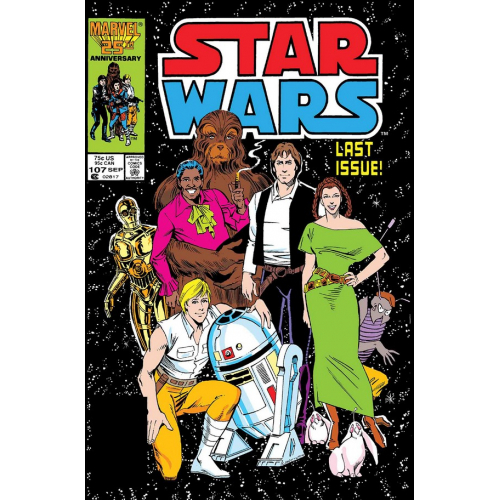 STAR WARS ORIGINAL MARVEL YEARS 107 (VO)