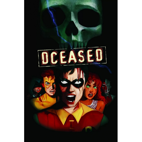 DCEASED 4 (VO) HORROR MOVIE VARIANT CARDSTOCK COVER