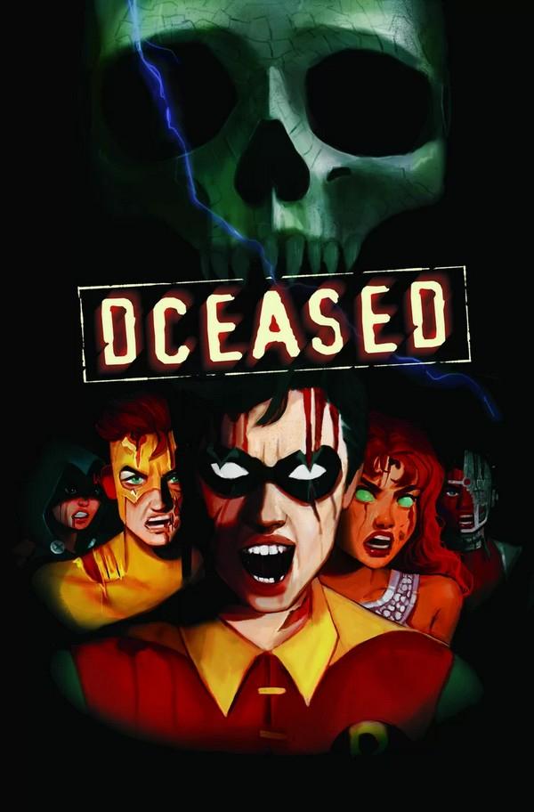 DCEASED 4 (VO) FRANCESCO MATTINA CARDSTOCK COVER