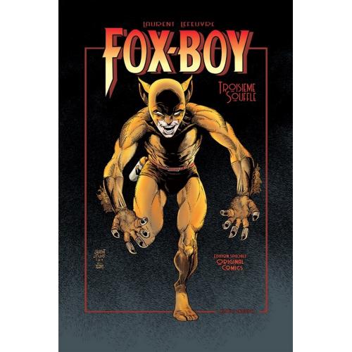 FOX-BOY : Troisième Souffle Edition Original Comics 150 ex. Signé par Laurent Lefeuvre (VF)