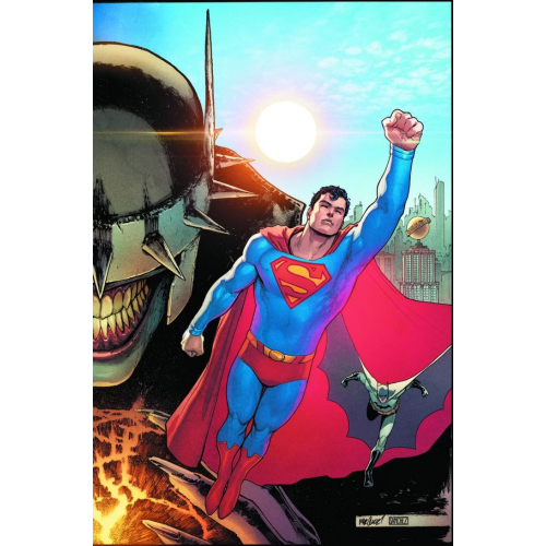 BATMAN/SUPERMAN 1 SUPERMAN COVER (VO)