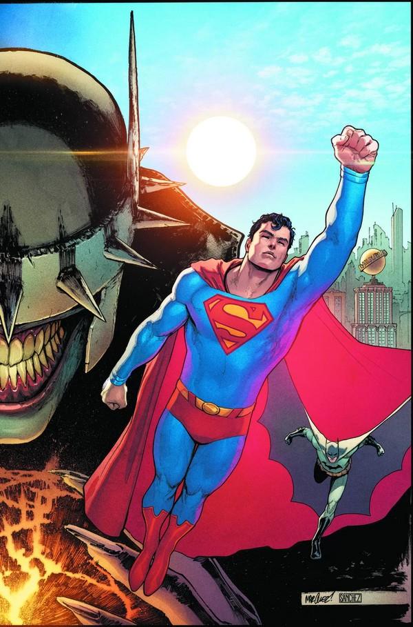 BATMAN/SUPERMAN 1 SUPERMAN COVER (VO)