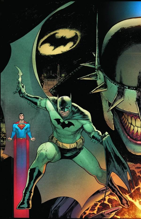 BATMAN/SUPERMAN 1 BATMAN COVER (VO)