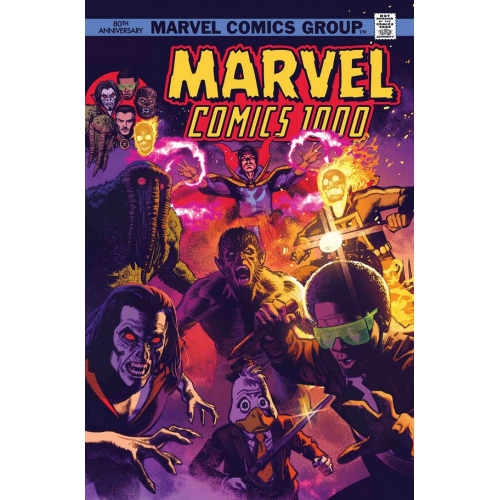 MARVEL COMICS 1000 SMALLWOOD 70S VAR (VO)