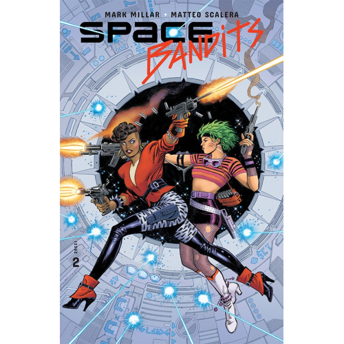 SPACE BANDITS 2 (OF 5) CVR C LEGENDS VAR GARCIA-LOPEZ (VO)