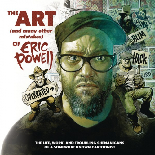 ART & MANY MISTAKES ERIC POWELL HC (VO)