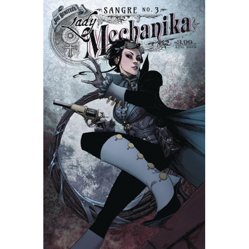 Lady Mechanika : Sangre 3 (VO) Couverture A