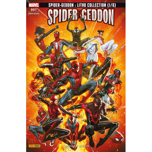 SPIDER-MAN SPIDER-GEDDON 1 FRESH START (VF)