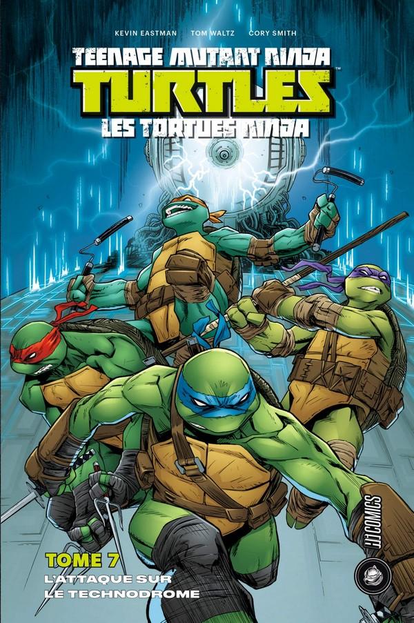 Top Comics - Page 2 Teenage-mutant-ninja-turtles-tome-7-attaque-sur-le-techndrome-vf