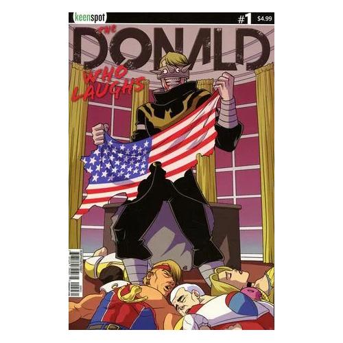 THE DONALD WHO LAUGHS 1 (VO) Cover C Trumps Titans