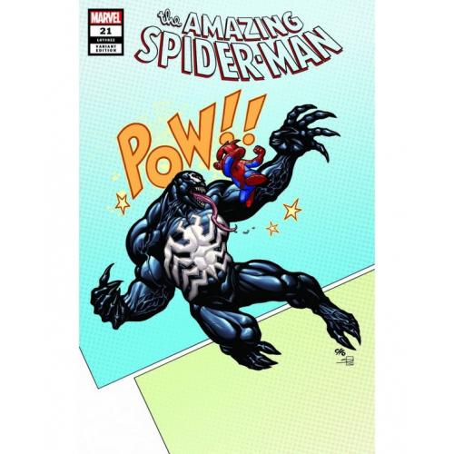 Amazing Spider-Man 21 Frank Cho LCCAF Variant (VO)