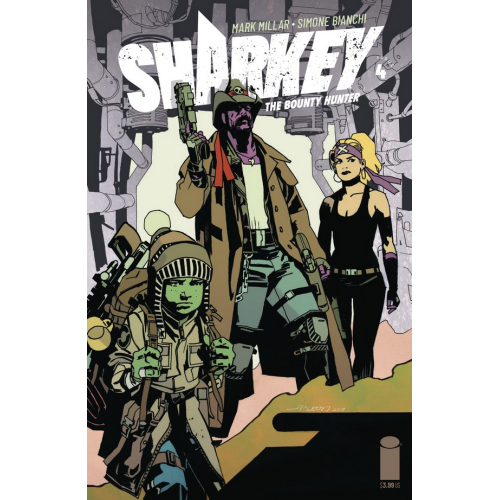 SHARKEY BOUNTY HUNTER 4 (OF 6) CVR C LEON (VO) MARK MILLAR - SIMONE BIANCHI