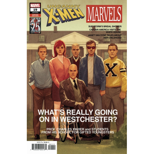 UNCANNY X-MEN 19 NOTO MARVELS 25TH TRIBUTE VAR (VO)