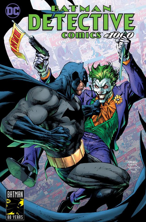 Detective Comics 1000 (VO) JIM LEE VARIANT - HARLEY QUEEN