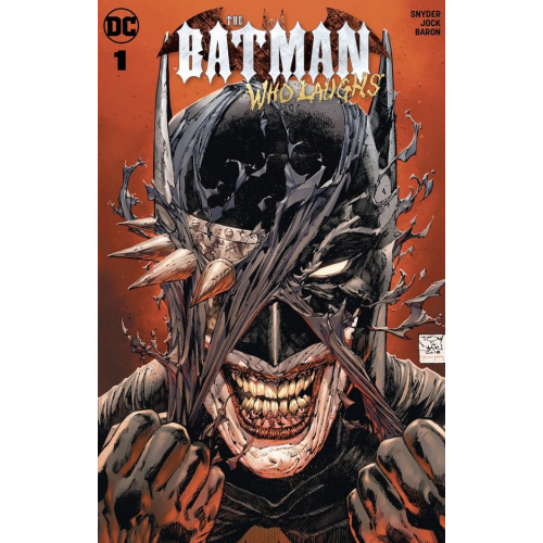 Batman Who Laughs 1 (VO) - Snyder - JOCK - TONY DANIEL VARIANT