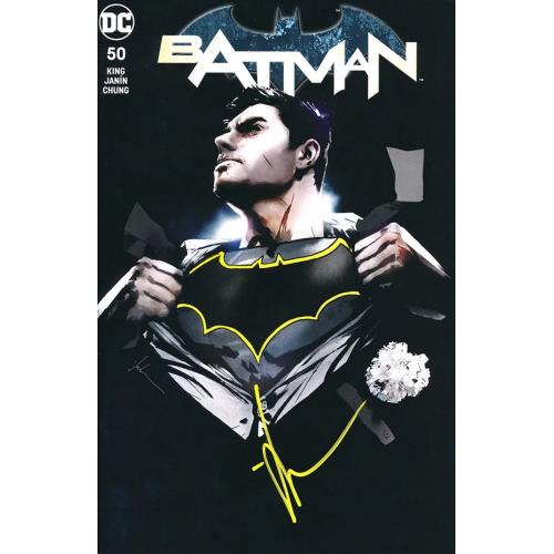 Batman 50 (VO) JOCK VARIANT - Signé !