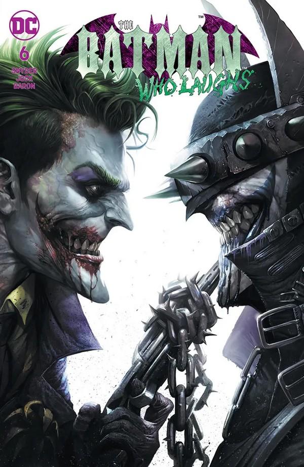 Batman Who Laughs 6 Variant Ed (VO) - Snyder - JOCK