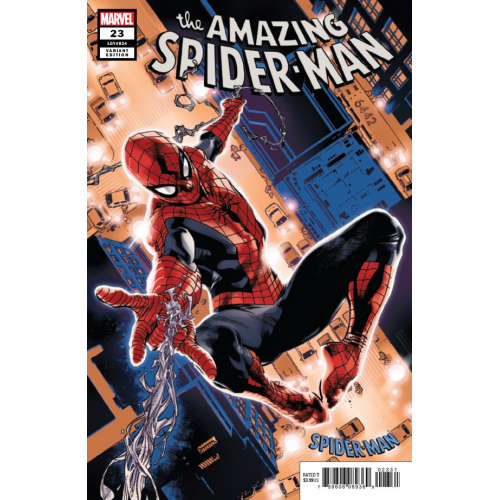 AMAZING SPIDER-MAN 23 IMMONEN SPIDER-MAN BLUE RED SUIT VAR (VO)