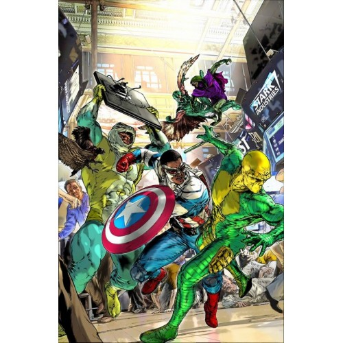 Captain America : Sam Wilson 5